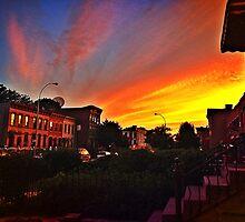 Brooklyn Sunset by iBeautifulChaos