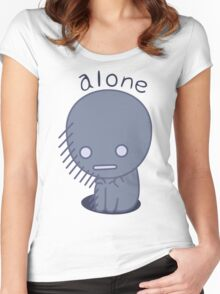 Alone Women's Fitted Scoop T-Shirt