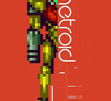 Metroid by slippytee
