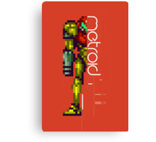 Metroid Canvas Print