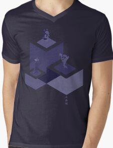 Crystal Castles Mens V-Neck T-Shirt