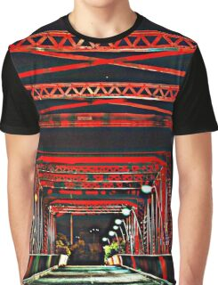 Red Bridge HDR Graphic T-Shirt
