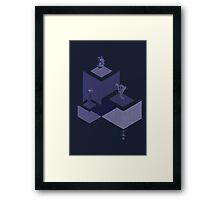 Crystal Castles Framed Print