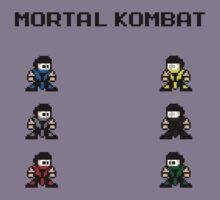 Megaman Kombat by CK704