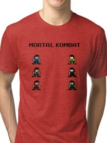 Megaman Kombat Tri-blend T-Shirt