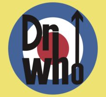 Dr Who Target (with arrow) Kids Tee