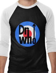 Dr Who Target (with arrow) Men's Baseball ¾ T-Shirt