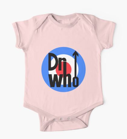 Dr Who Target (with arrow) One Piece - Short Sleeve