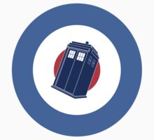Doctor Who - TARDIS Mod Target One Piece - Short Sleeve
