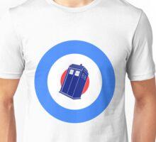 Doctor Who - TARDIS Mod Target Unisex T-Shirt