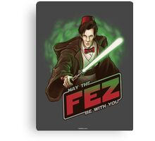 May the Fez be With You Canvas Print