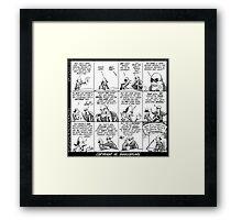 Copyright vs Shakespeare Framed Print