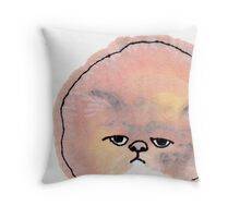 Ball of Fur Throw Pillow