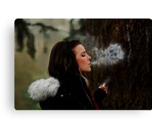 Deathly Exhale Canvas Print