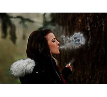 Deathly Exhale Photographic Print
