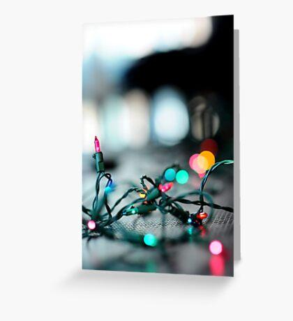 Shining Lights Greeting Card