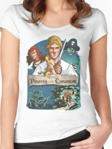 The real Pirates of the Caribbean Women's Fitted Scoop T-Shirt