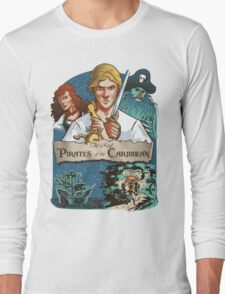 The real Pirates of the Caribbean Long Sleeve T-Shirt