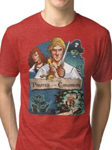 The real Pirates of the Caribbean Tri-blend T-Shirt