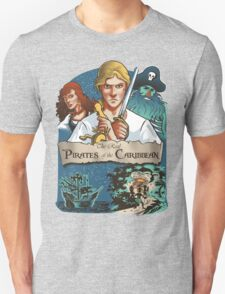 The real Pirates of the Caribbean T-Shirt