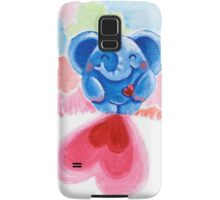 Me And My Heart - Rondy the Elephant In Love Samsung Galaxy Case/Skin