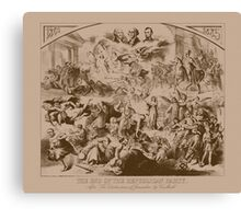 The End Of The Republican Party Canvas Print