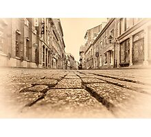 Old Montreal at Dawn Photographic Print