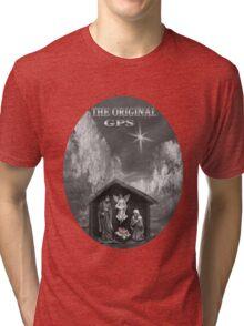 ☀ ツ THE ORIGINAL GPS TEE SHIRT ☀ ツ Tri-blend T-Shirt
