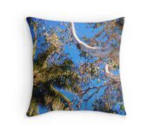 Tropical Bushland Throw Pillow