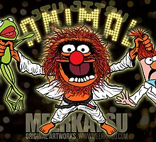 Jiu Jitsu Animal by Meerkatsu
