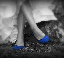 Blue Shoes by Steve Small