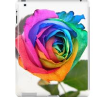 Rainbow Rose 01 iPad Case/Skin