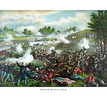 Battle Of Bull Run -- Civil War by warishellstore
