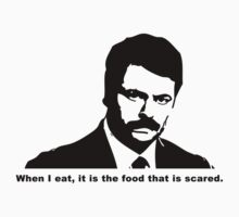 Ron Swanson - Scared Food by trevorbrayall