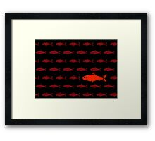 Red Herring Framed Print