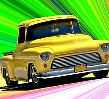 1956 Ford F100 Custom Pick-Up Truck VI by DaveKoontz