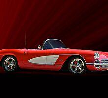 1961 Corvette Fuel Injected Roadster by DaveKoontz