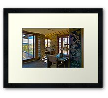Taliesin, Frank Lloyd Wright, Architect Framed Print