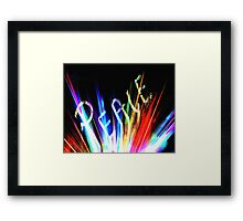 Signs of Peace Framed Print