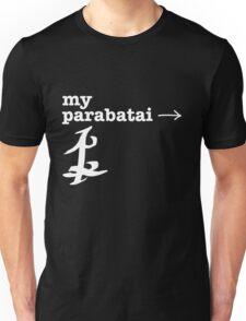 LEFT; my parabatai → Unisex T-Shirt