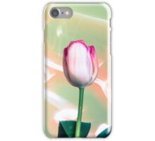 Pink Tulips Painted with Light iPhone Case/Skin
