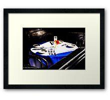 A Table Awaits Framed Print