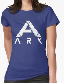 ARK Survival Evolved Minimalist White Womens Fitted T-Shirt