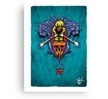 Little Man in the Boat Canvas Print