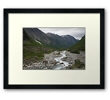 Norway, Isterdalen Valley from the Troll Road  Framed Print