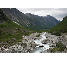 Norway, Isterdalen Valley from the Troll Road  Photographic Print