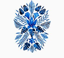 Tropical Symmetry – Navy T-Shirt