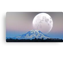 Giant Super Moon Canvas Print