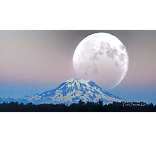 Giant Super Moon Photographic Print