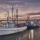 Fishing Port by Shari Mattox